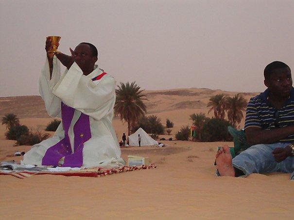 la rencontre avec dieu dans le desert