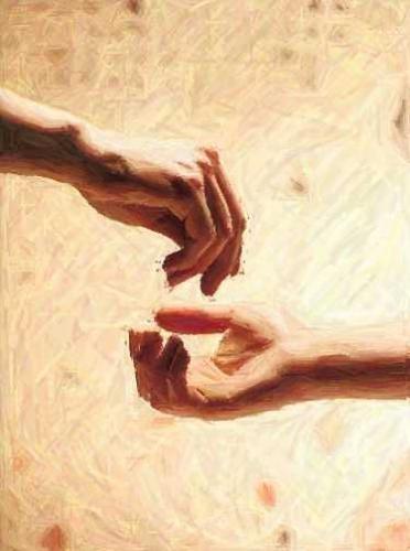 toi, quand tu fais l'aumône, que ta main gauche ignore ce que donne ta main droite, afin que ton aumône reste dans le secret